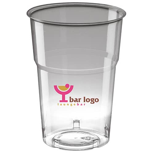 10oz Disposable Half Pint Tumblers in Clear