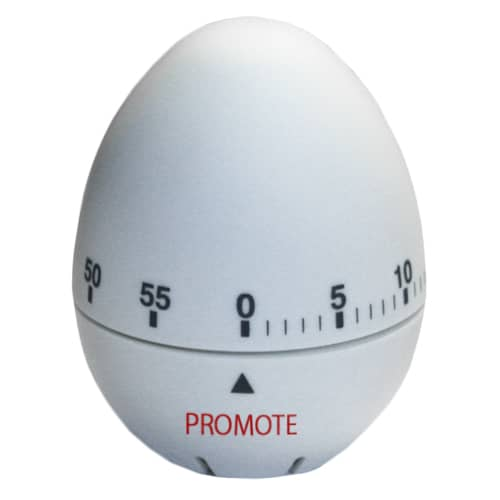 Egg Timers in White