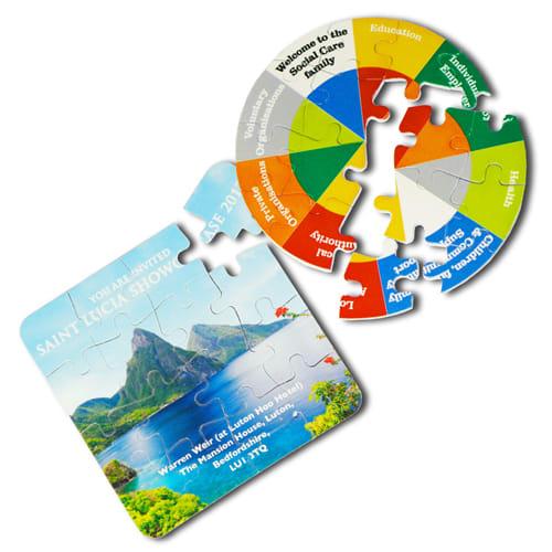 Gnalvic 16 Piece Puzzle Coasters