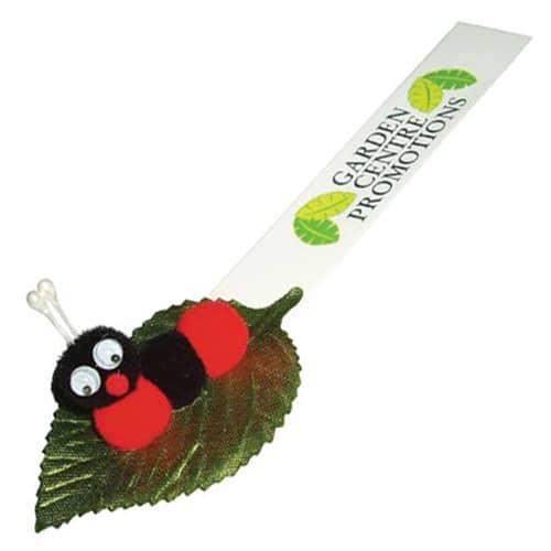 Leafy Caterpillar Logobug in Green