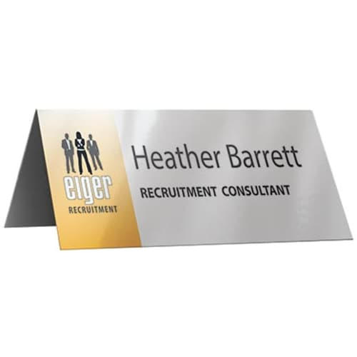 Promotional Nameplate for Office Merchandise