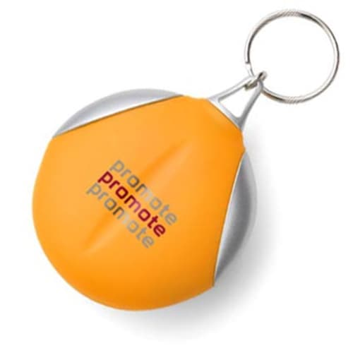 Branded Cloth Keyring for Company Merchandise