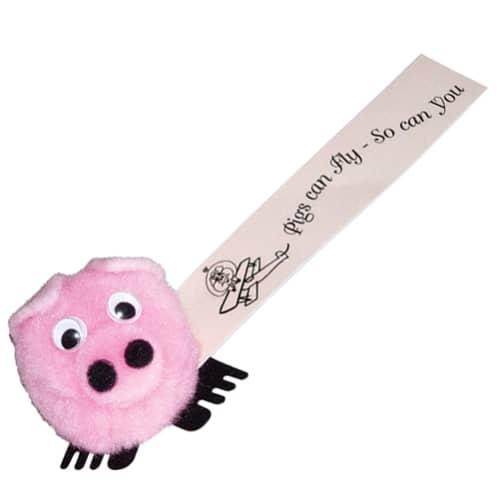Pig Logobugs in Pink