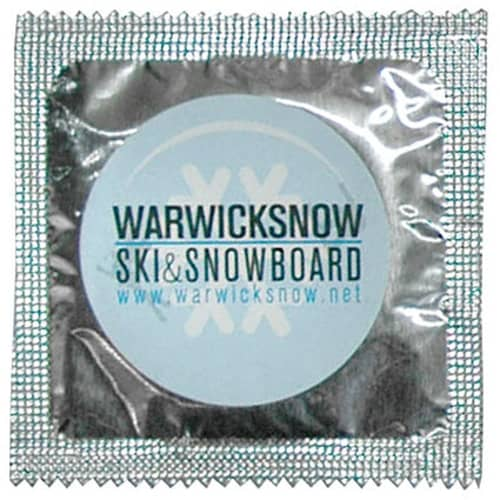Printed Condom Foils for university ideas