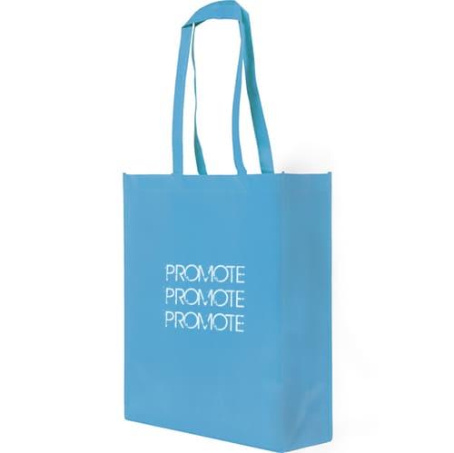Bright Blue Promotional Rainham Tote Bag with company logo
