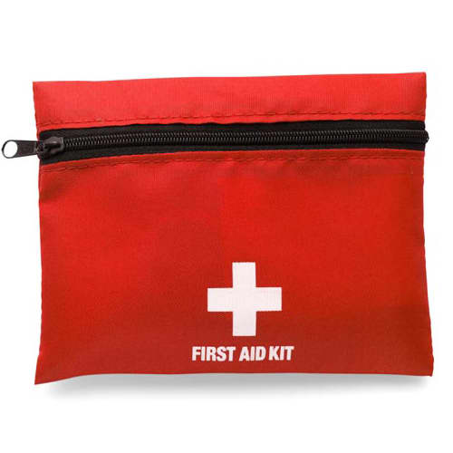 First Aid Kit With Belt Clip Attachment