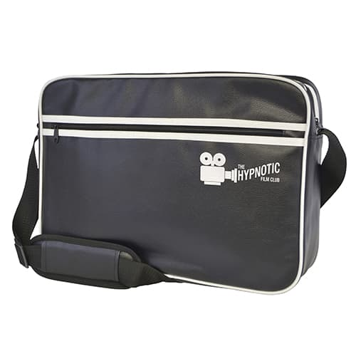 Branded Retro Style Zipped Laptop Bag for merchandise gifts