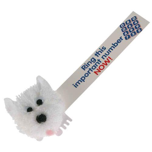 Scottie Dog Logobugs in White