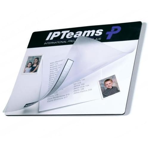 Promotional See Thru Mouse Mats for Desktop Merchandise