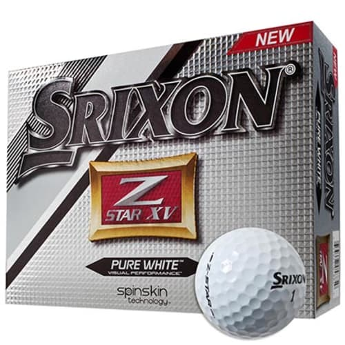Custom Printed Srixon Z-Star Golf Balls for Company Merchandise