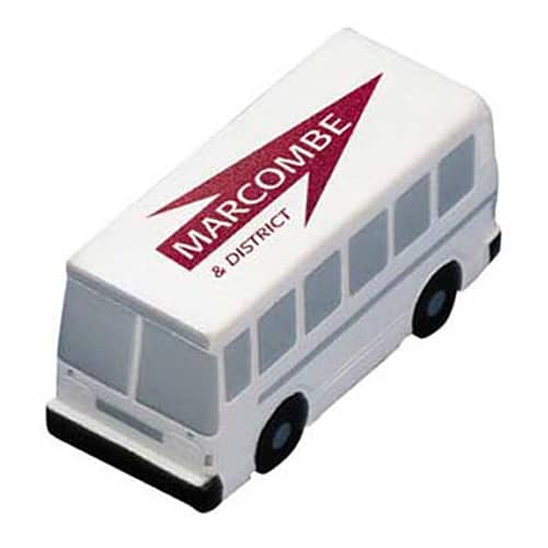 Promotional Stress Busses for Travel Companies