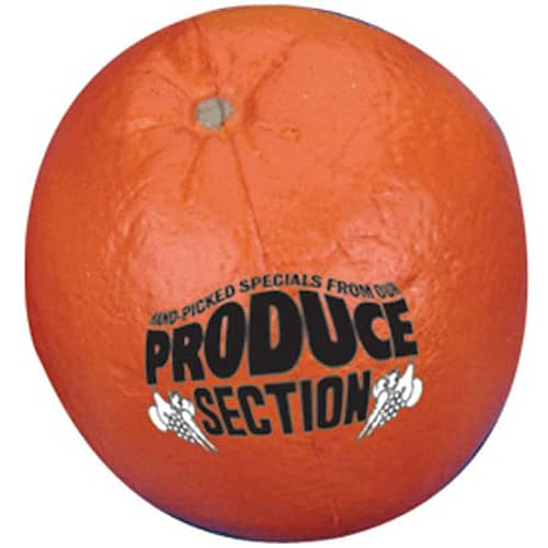 Promotional Stress Orange for Marketing Gifts