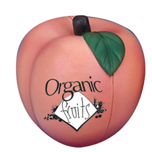 Promotional Stress Peach for Marketing Handouts
