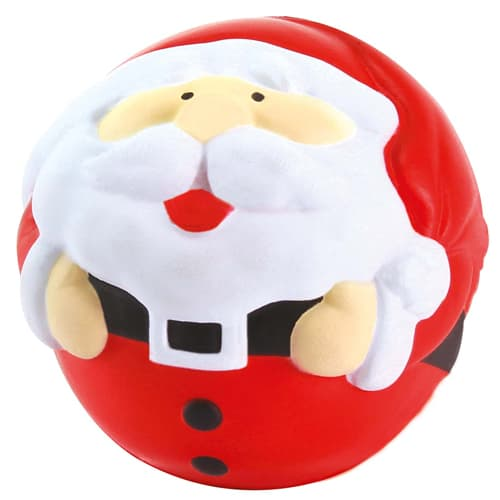 Stress Santa in Red/ Off White