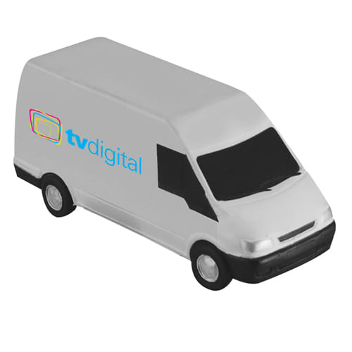 Stress Transit Vans in Off White