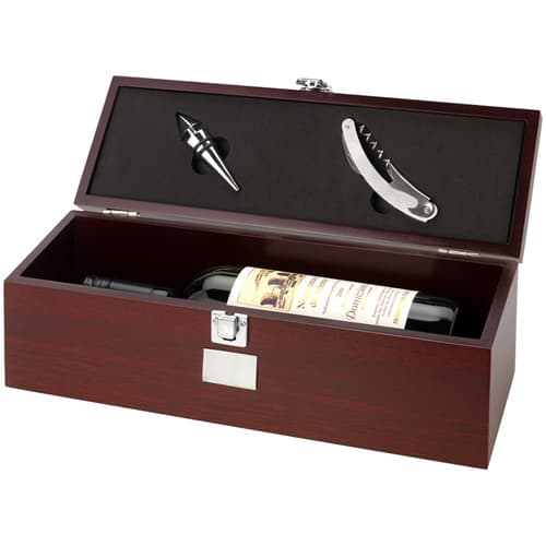 Wine Box in Brown