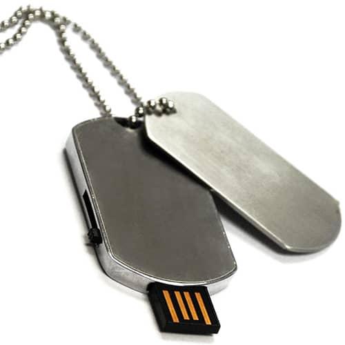 USB Dog Tag Flashdrives