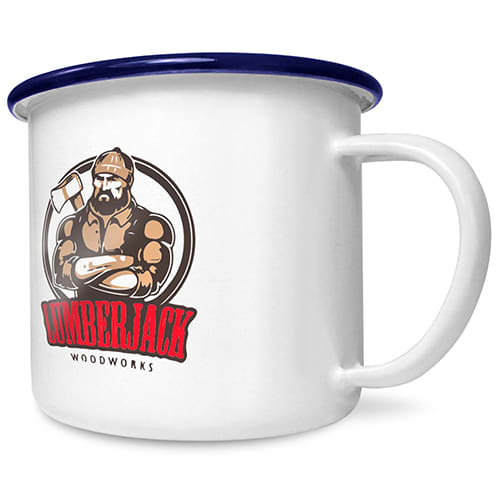 Promotional 10oz Premium Enamel Mugs for outdoor gifts