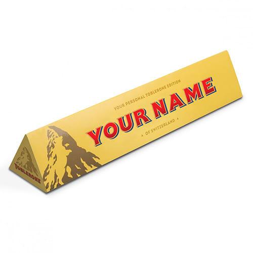 Custom Branded Toblerone for Promotional Gifts