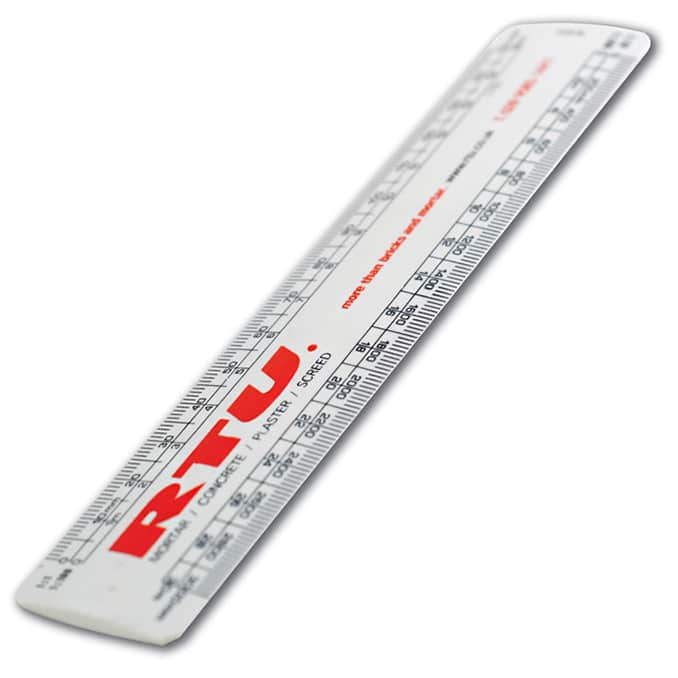 Promotional 150mm Professional Scale Ruler with company logo