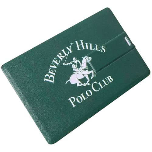 Promotional 4GB Express USB Flashdrive Credit Cards branded with logo