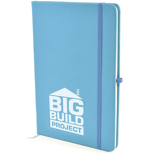 Promotional A5 Soft Touch PU Notebooks for offices