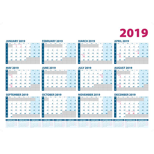 Promotional A1 Wall Planners for offices