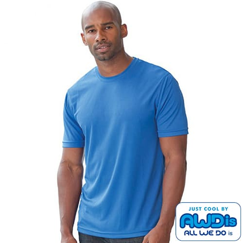 Branded AWD Cool Tech Performance T-Shirts for events
