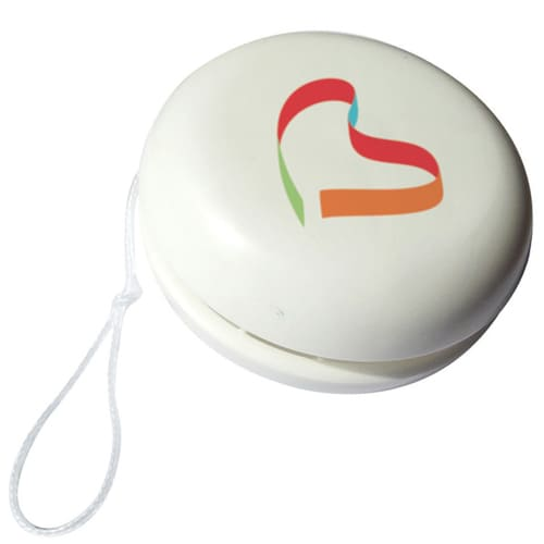 Promotional Budget YoYo with business logos