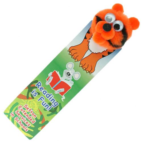 Promotional Animal Bug Bookmarks for childrens marketing