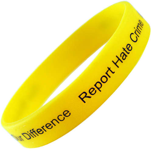 Printed Children's Silicon Wristbands for charity events