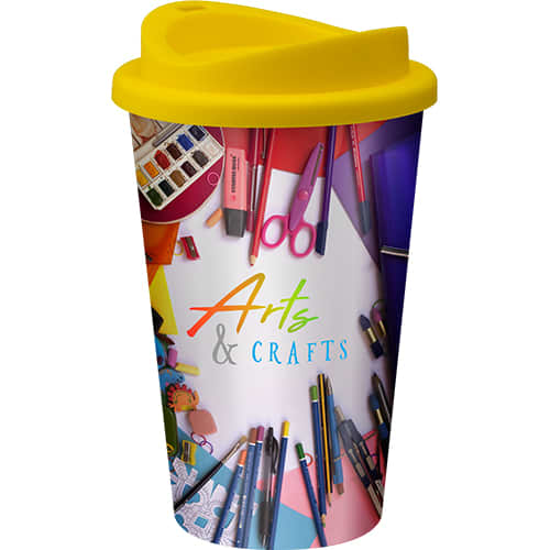 Promotional Full Colour Universal Take Out Cup with designs