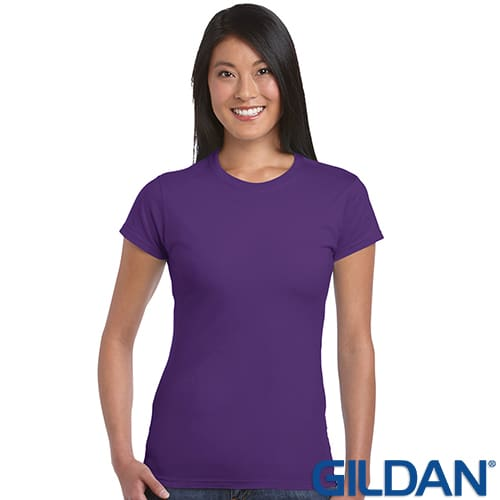Promotional Gildan Ladies Soft Style T Shirts for giveaways