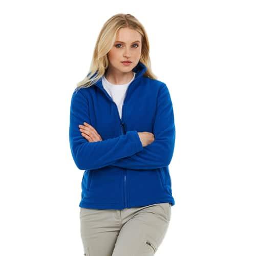 Ladies Zipped Fleece Jackets