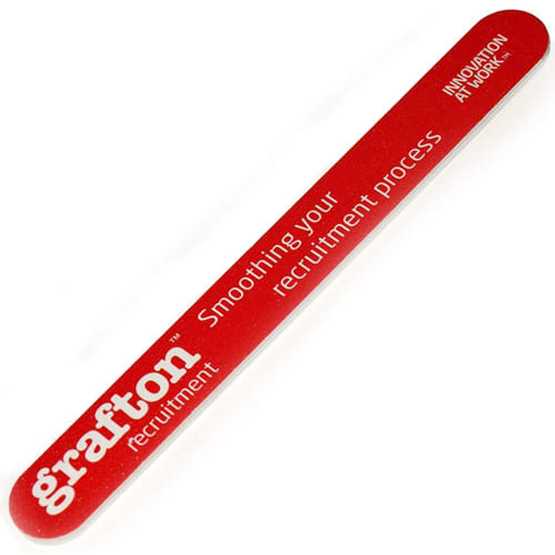 Promotional Large Nail Files printed with company logo