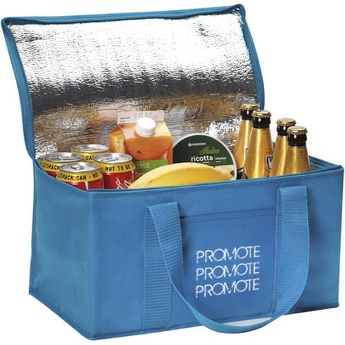 Promotional Large Fold Away Cooler Bags with company logo