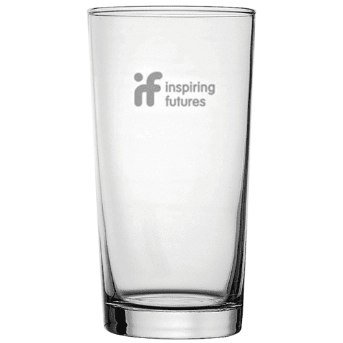 Conical Straight Pint Glasses
