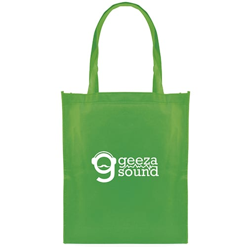 Promotional Recyclable Non Woven Shopper Bags with logos 78a25535042a