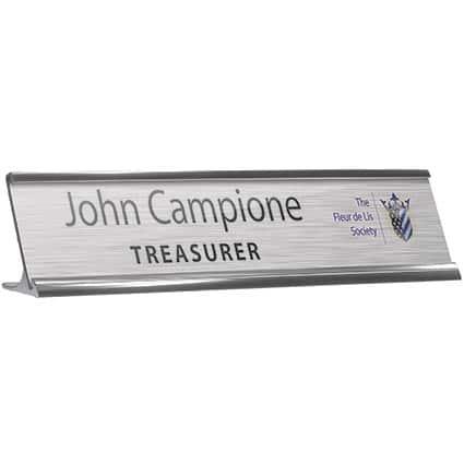 Reusable Metal Nameplates