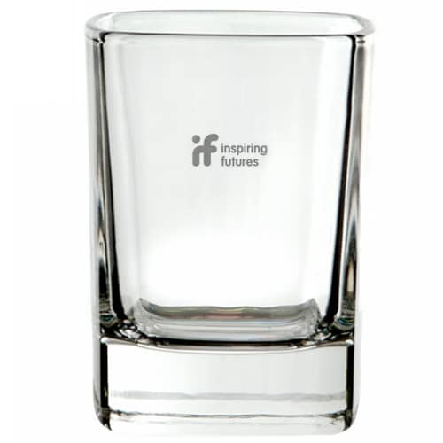 Crystal Square Tot Glasses