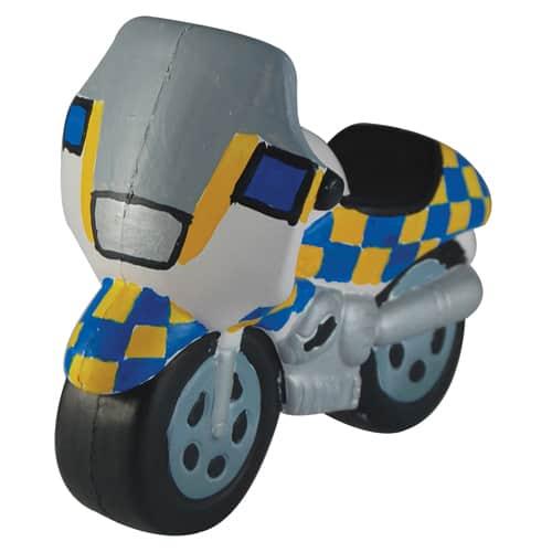 Stress Police Motorbike