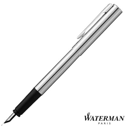 Waterman Graduate Fountain Pen in Silver