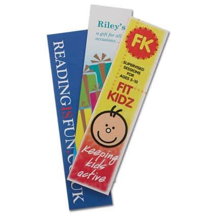 Laminated Card Bookmark