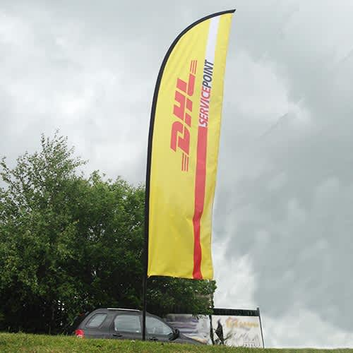 Printed Feather Banner Flags for festivals