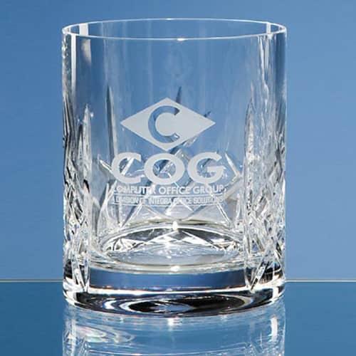 Flamenco Lead Crystal Whiskey Glass