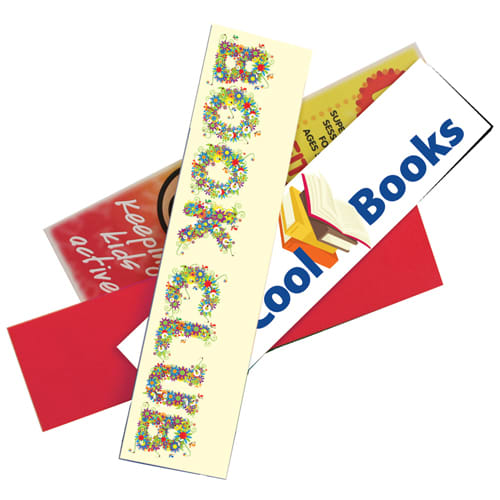 Full Colour Foam Backed Bookmarks