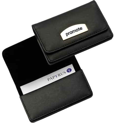 Leather Business Card Holder Personalised Folders All Business