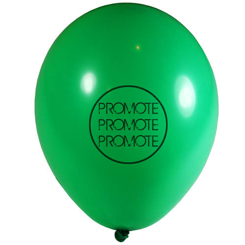 Promotional 12 inch Balloons for events
