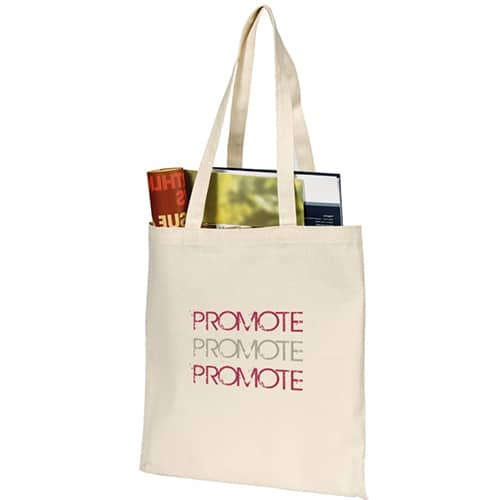 Branded Sandgate 7oz Cotton Canvas Bag for printing company logos