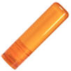 Mint Lip Balm Sticks in Transparent Orange